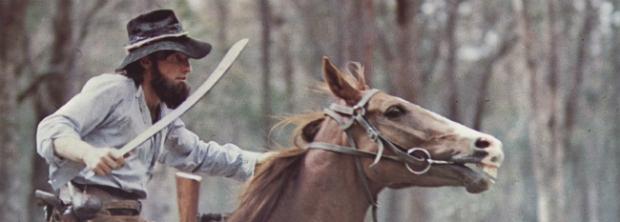 Production still from 'Mad Dog Morgan' (1976)