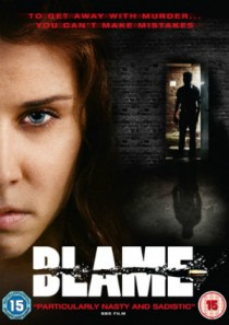 UK DVD cover for BLAME