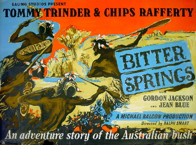 UK Poster for BITTER SPRINGS