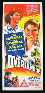 Poster for THE OVERLANDERS
