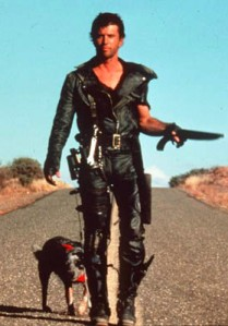 Production still from Mad Max II: The Road Warrior