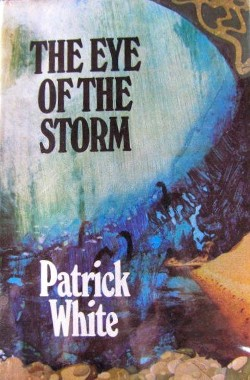 Original cover for Patrick White's The Eye of the Storm