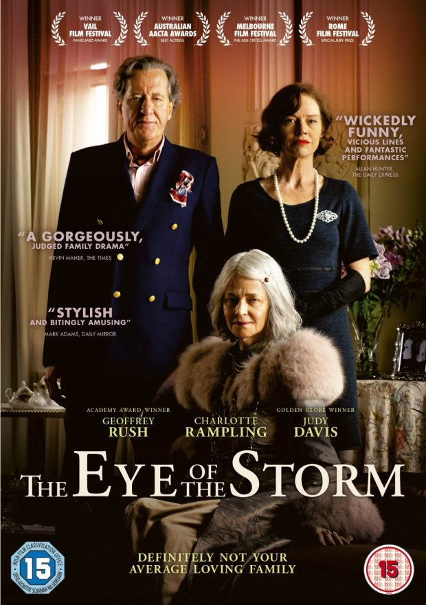The Eye of the Storm UK DVD cover