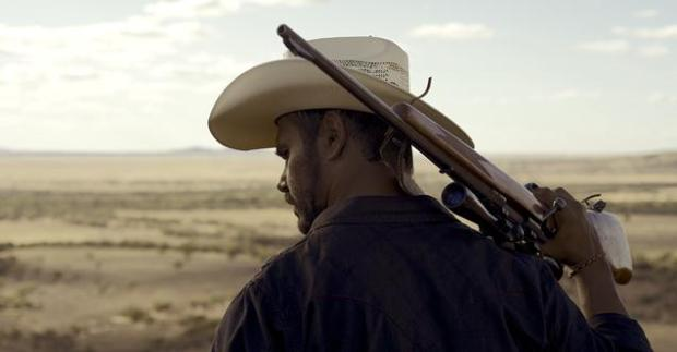 Production still from Mystery Road