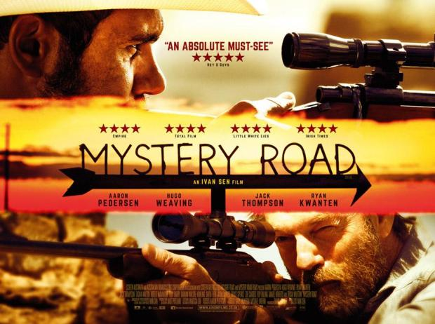 UK poster for Mystery Road