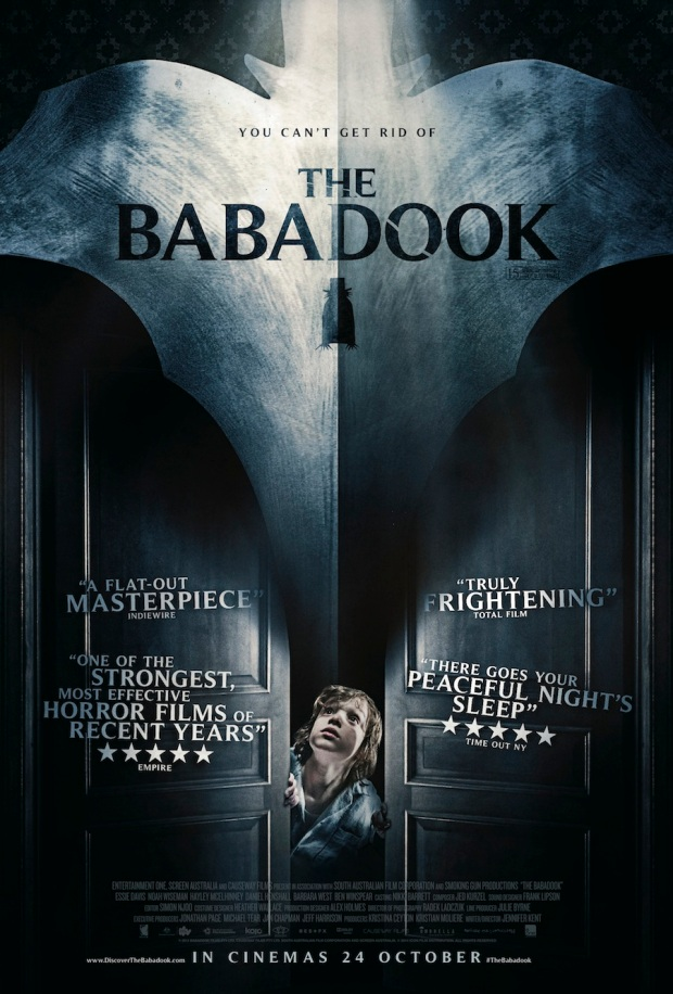 UK one-sheet poster for The Babadook (Source: Icon)