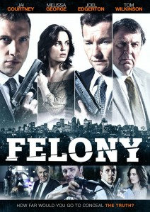 Felony - UK DVD cover