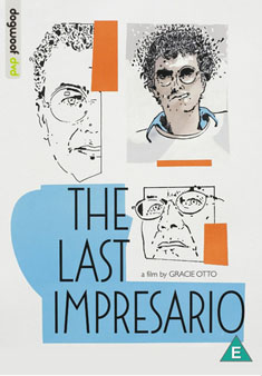 UK DVD cover for The Last Impresario